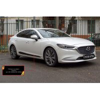 Молдинги на двери Mazda 6 2018-