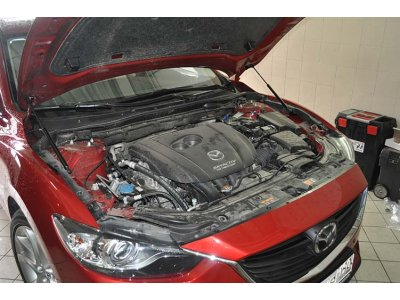 Упоры амортизаторы капота Mazda 6 2018-