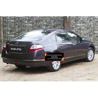 Реснички на задние фонари Nissan Teana 2011-2014