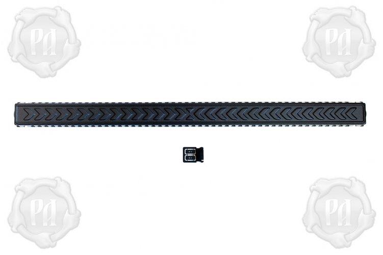 Крышка светодиодной балки 1300 на 80 мм