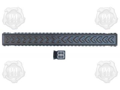 Крышка светодиодной балки 800 на 80 мм