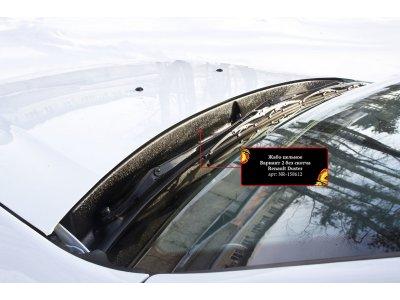 Жабо цельное (без скотча) Nissan Terrano 2014-2015