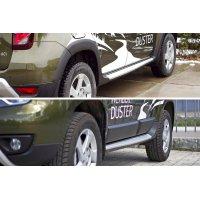 Расширители колесных арок + молдинги для Renault Duster 2015-