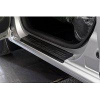 Комплект накладок порогов дверей Renault Logan 2014-