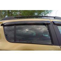 Дефлекторы на боковые окна Renault Sandero 2014-