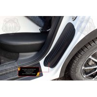 Накладки на задние арки Volkswagen Polo VI 2020-
