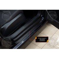 Накладки на пороги дверей Volkswagen Jetta 2005-2011